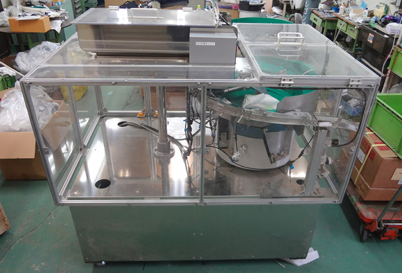 SUS・樹脂製化粧品・医薬品容器用パーツフィーダー